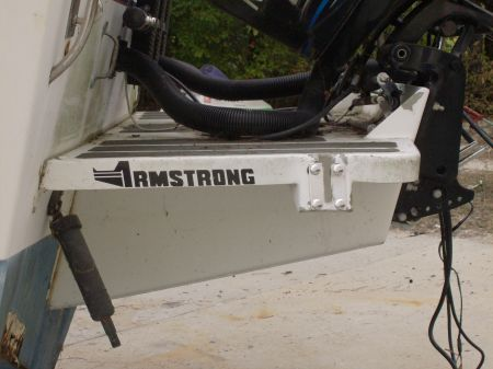 Armstrong outboard bracket barnegat fishin 39 hole for Outboard motor brackets for sale